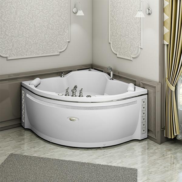 "Акриловая ванна  ""Сорренто"" 140х140 (без гидромассажа)"