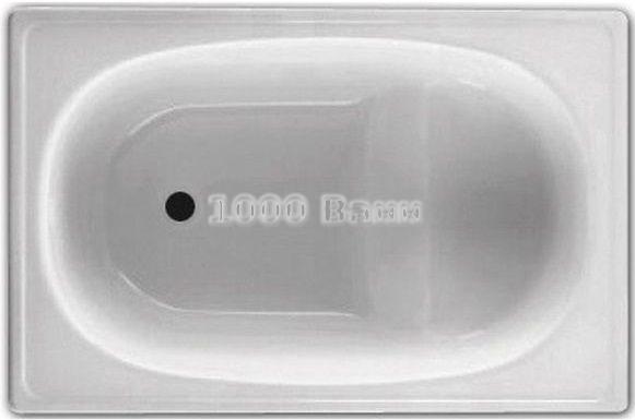BLB Europa Стальная ванна 105*70*37 сидячая, 2,5 мм