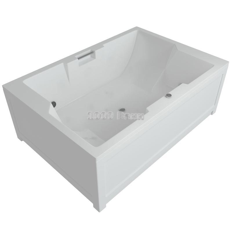 Ванна акриловая АКВАТЕК Дорадо 190х130 (без гидромассажа)