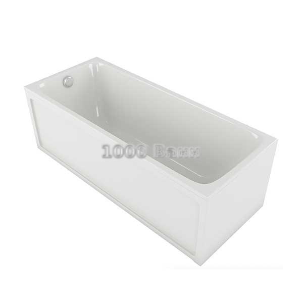Ванна акриловая АКВАТЕК Мия 120х70 (без гидромассажа)