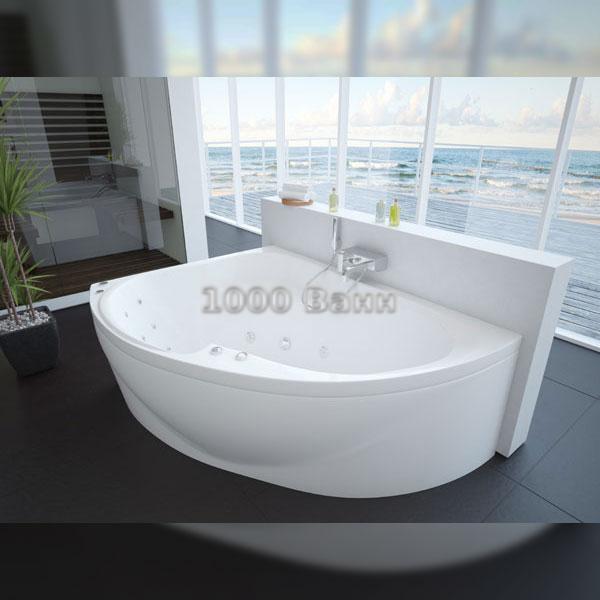 Ванна акриловая АКВАТЕК Альтаир 160 (с гидромассажем) Premium