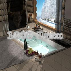 Ванна акриловая АКВАТЕК Альфа 170х70 (с гидромассажем) Koller