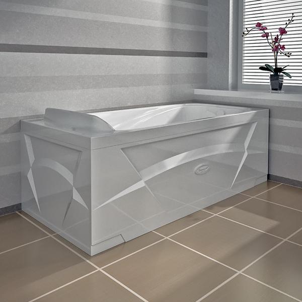 "Акриловая ванна ""Роза"" 169х77"