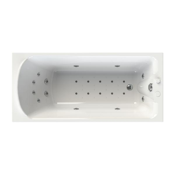"""Акриловая ванна """"Ларедо"""" 168х70 ( с гидромассажем)"""