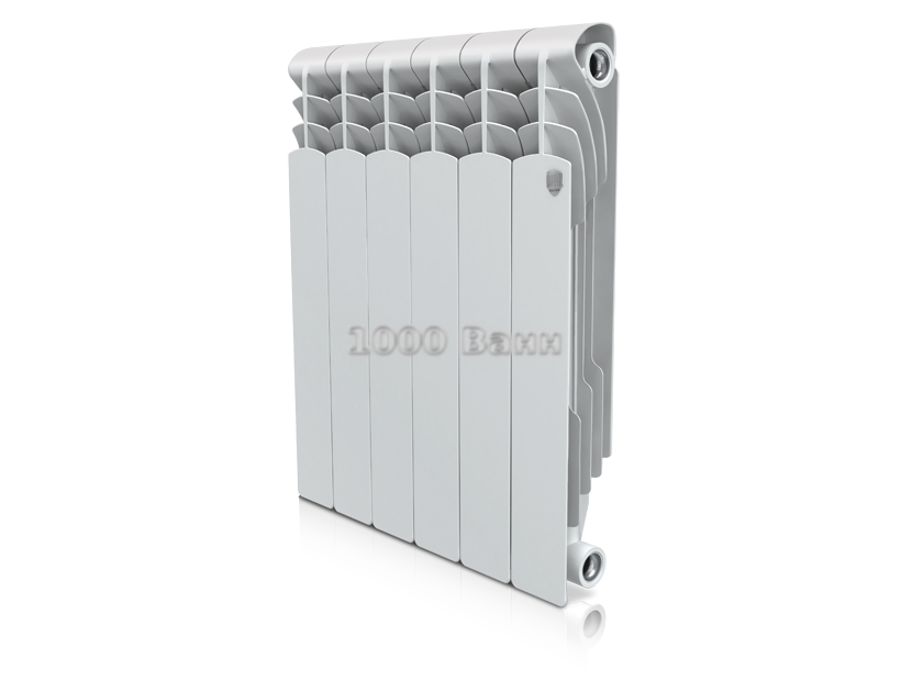 Радиатор биметалл Royal Thermo Revolution Bimetall 350 - 4 секц.