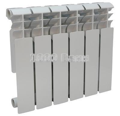 Радиатор алюминиевый СТК 80х350 - 6 секц.