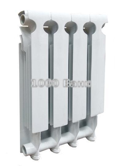 Радиатор алюминиевый SUNBATH 80х500 - 4 секц.