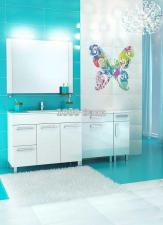 Комплект мебели Triton Ника 100 L белый
