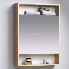 Зеркало-шкаф Aqwella City 50 балтийский дуб