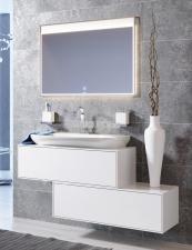 Комплект подвесной мебели Aqwella Genesis 100 белый