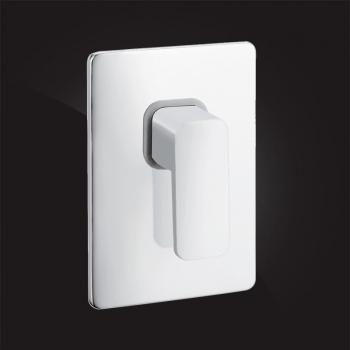 Смеситель Elghansa MONDSCHEIN WHITE 3420235-White скрытого монтажа